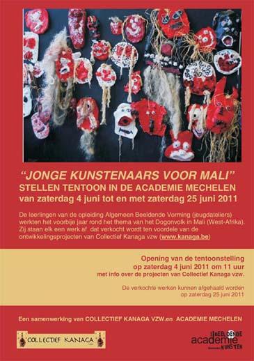 JONGE KUNSTENAARS VOOR MALI 2011